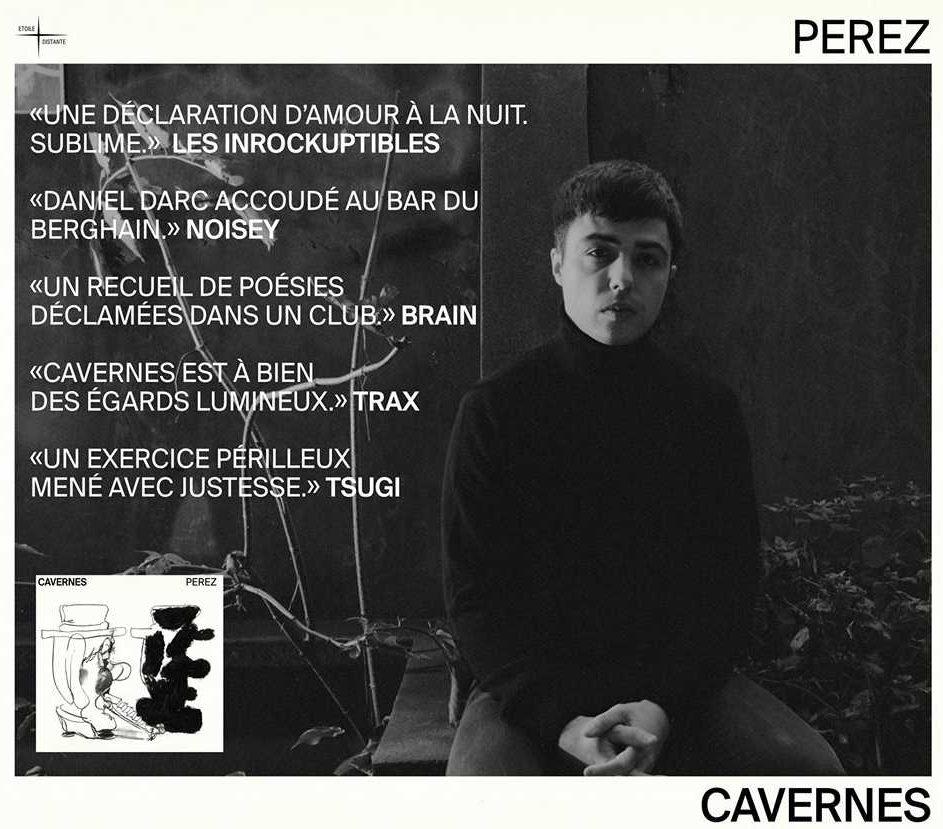 PEREZ PRECEDENT ALBUM CAVERNES